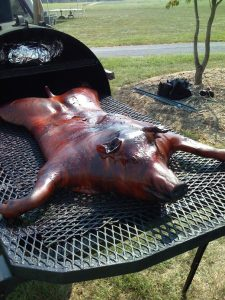 Valley Pig Pickin', LLC BBQ whole hog